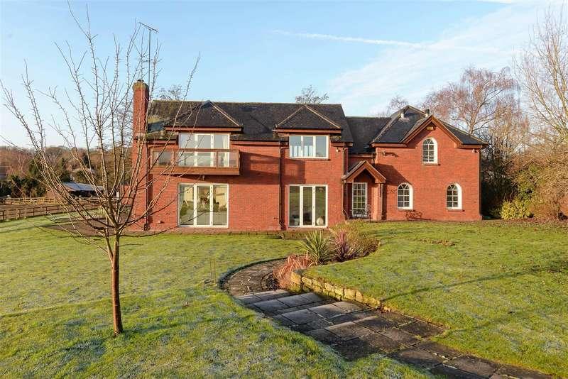 4 Bedrooms Detached House for sale in Burley Hill, Allestree, Derby, Derbyshire