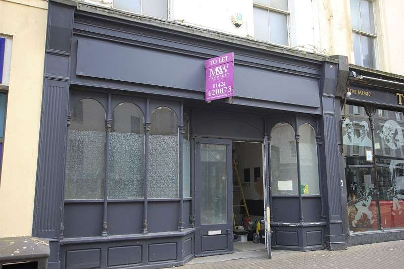 Shop Commercial for rent in Robertson Street, Hastings, East Sussex. TN34 1HL