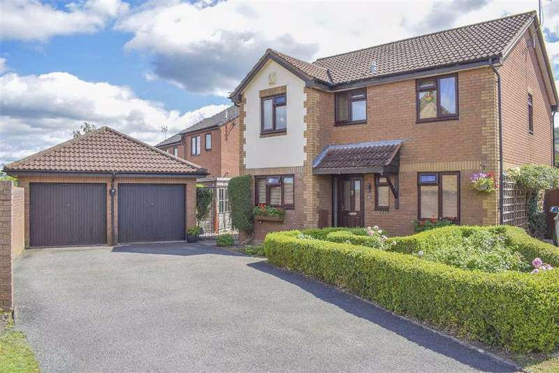 4 Bedrooms Detached House for sale in The Hawthorns, Cam, GL11