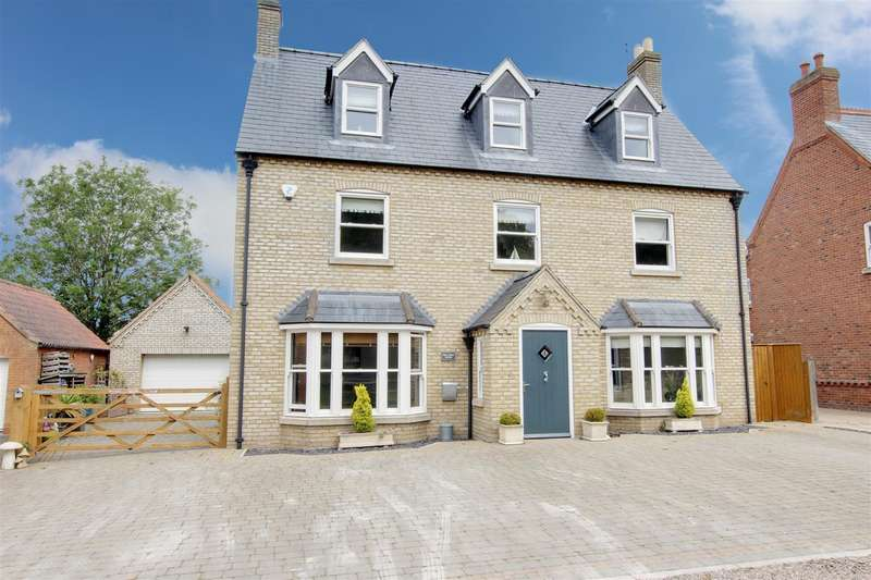 5 Bedrooms Detached House for sale in St. Margarets Close, Huttoft