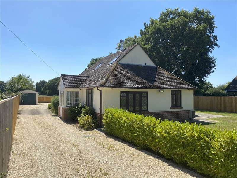 4 Bedrooms Detached Bungalow for sale in Silver Street, Hordle, Lymington, Hampshire, SO41