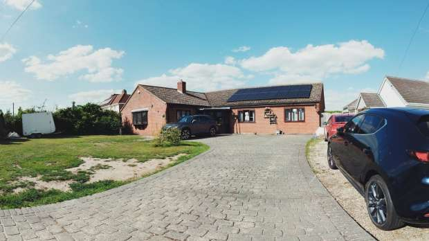 Detached Bungalow for sale in Sudbury Road, Glencoe, Suffolk, CO10 0QH