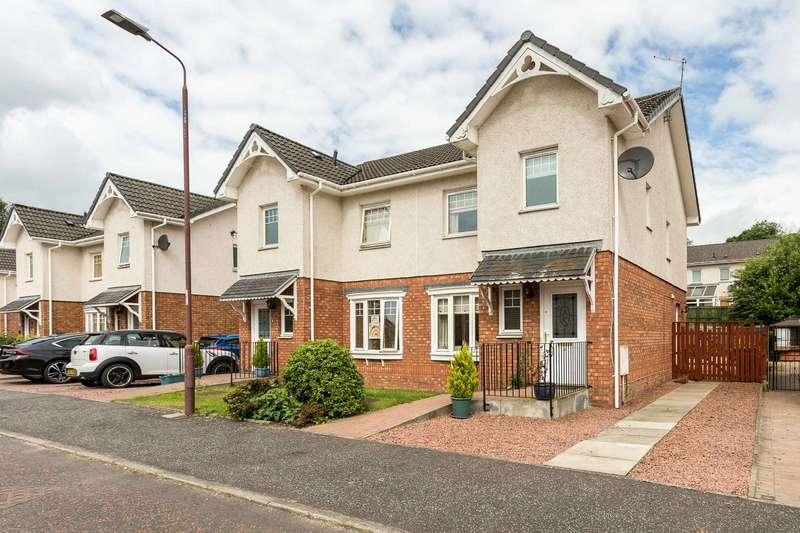 3 Bedrooms Semi Detached House for sale in Coats Crescent, Alloa, Clackmannanshire, FK10 2AQ