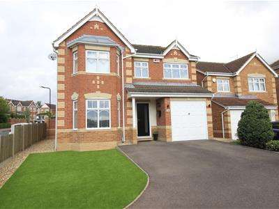 4 Bedrooms Detached House for sale in Empire Drive, Maltby, Rotherham