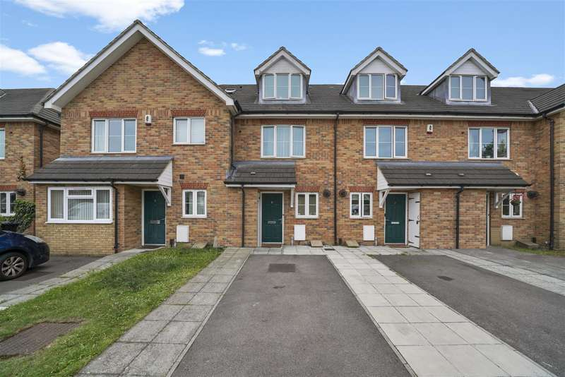4 Bedrooms Terraced House for sale in Doris Ashby Close, Greenford, UB6 7FD