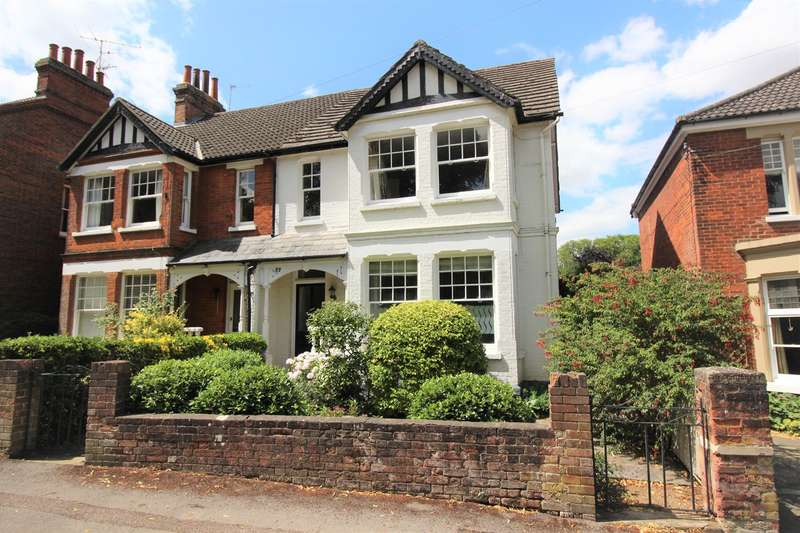 5 Bedrooms Semi Detached House for sale in The Avenue, Hitchin, SG4