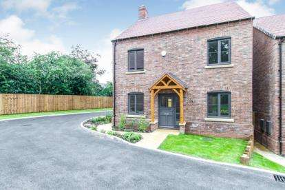 5 Bedrooms Detached House for sale in Raunstone Grange, Saxon Close