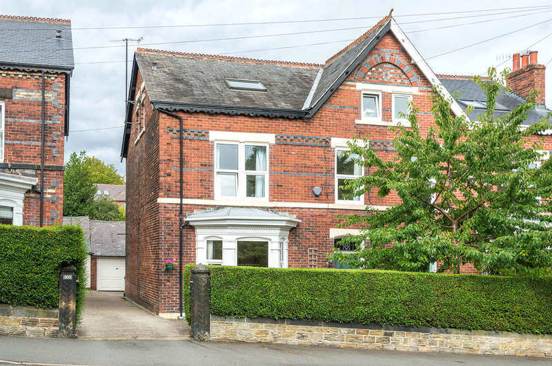 5 Bedrooms Semi Detached House for sale in Millhouses Lane, Ecclesall