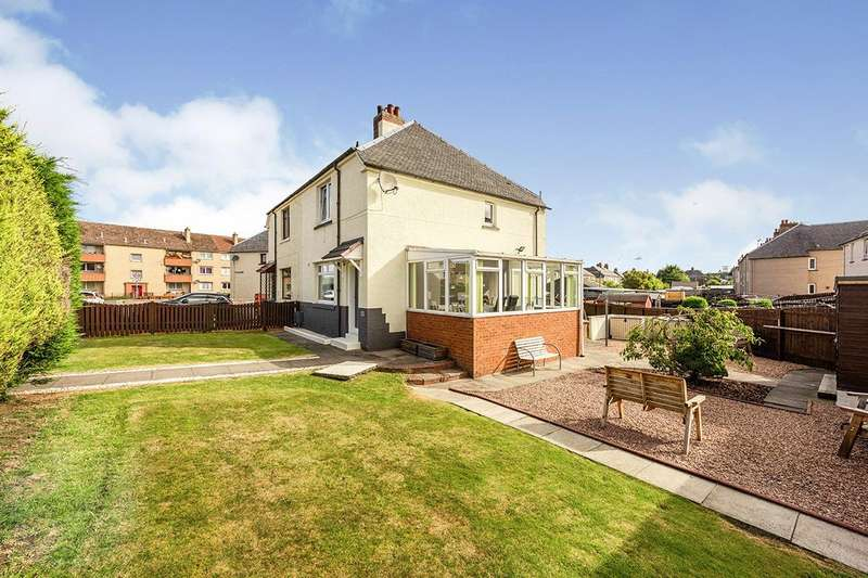 3 Bedrooms Semi Detached House for sale in Sunnyside Place, Lochgelly, Fife, KY5