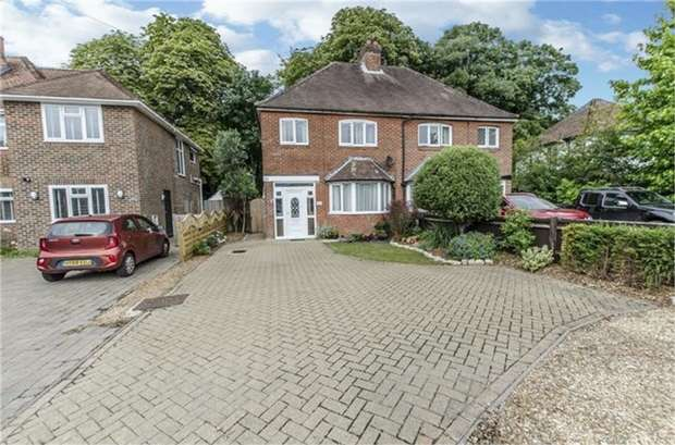 3 Bedrooms Semi Detached House for sale in Bishopstoke Road, Bishopstoke, EASTLEIGH, Hampshire