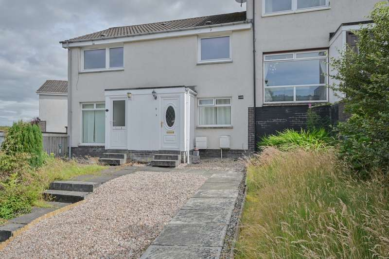 2 Bedrooms Flat for sale in Banks Crescent, Crieff, PH7