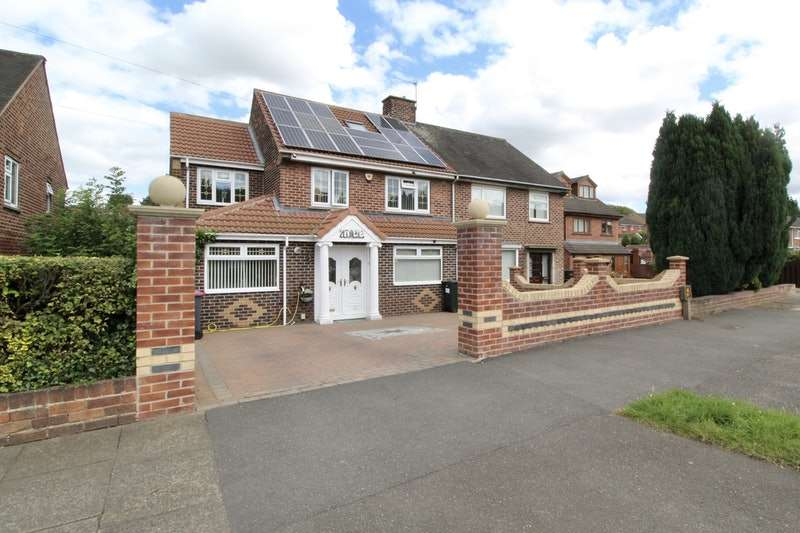 5 Bedrooms Semi Detached House for sale in Broom Valley Road, Rotherham, South Yorkshire, S60