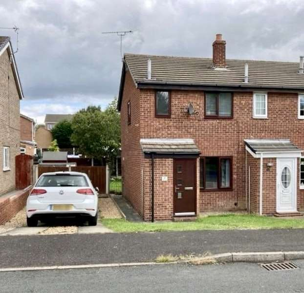 2 Bedrooms End Of Terrace House for sale in Nidderdale Place, Rotherham, South Yorkshire, S66