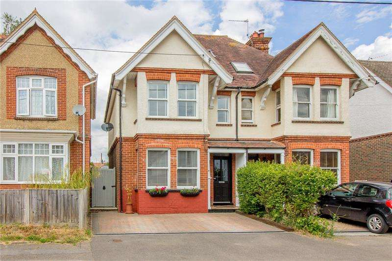 4 Bedrooms Semi Detached House for sale in Western Road, Liss, Hampshire, GU33
