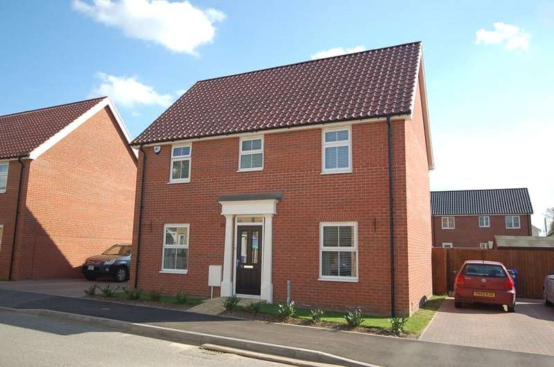 4 Bedrooms Detached House for rent in Harvester Lane, Beck Row, Bury St.Edmunds, Suffolk, IP28