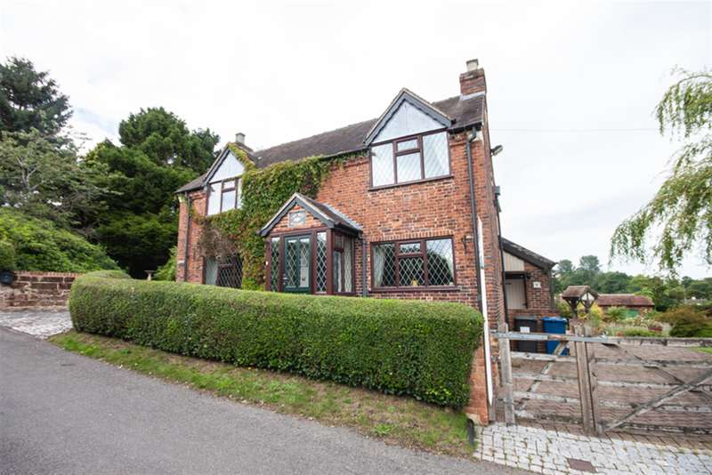 3 Bedrooms Cottage House for sale in Shaw Lane, Gentleshaw, Rugeley, WS15 4NE