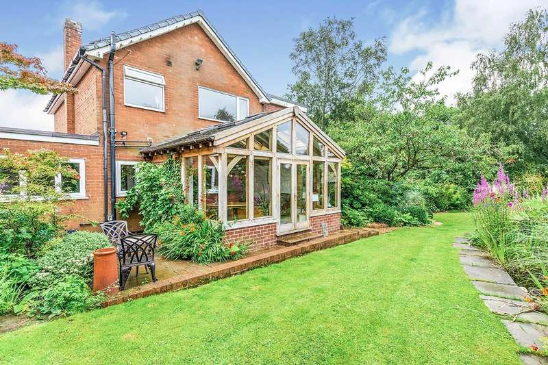 4 Bedrooms Detached House for sale in Brookfield, Parbold, Wigan, Lancashire, WN8