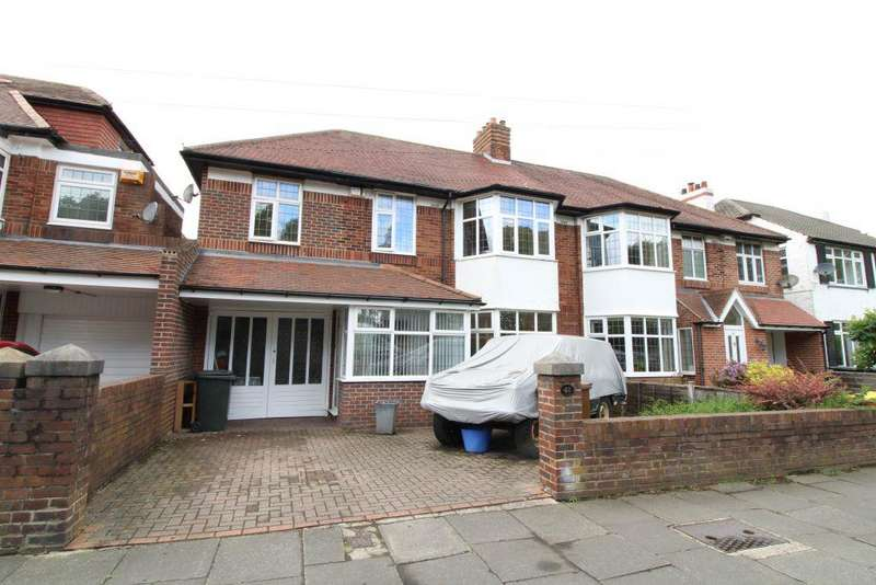 5 Bedrooms Semi Detached House for sale in Great North Road, Brunton Park, Gosforth, Newcastle Upon Tyne