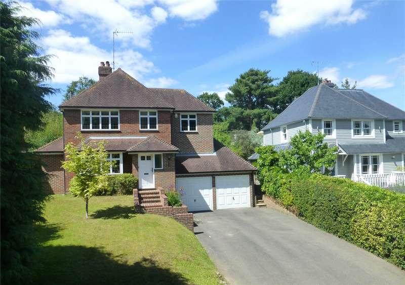 4 Bedrooms Detached House for sale in Hoe Lane, Abinger Hammer, Dorking, Surrey, RH5