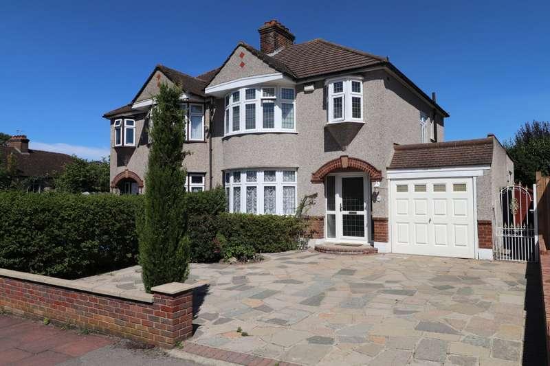 3 Bedrooms Semi Detached House for sale in Boleyn Gardens, West Wickham, BR4