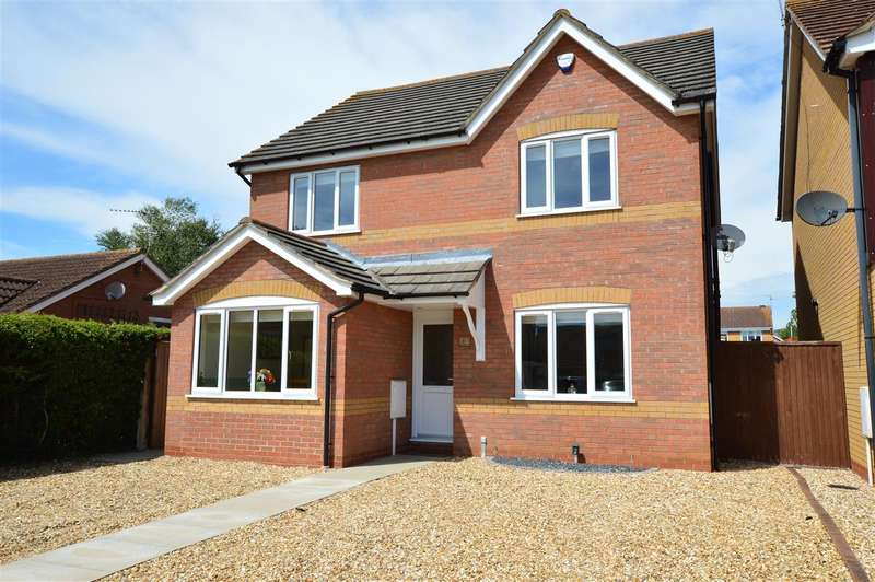 4 Bedrooms Detached House for sale in Mercia Close, Quarrington, Sleaford