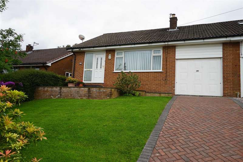 2 Bedrooms Semi Detached Bungalow for sale in Sandringham Road, Horwich, Bolton