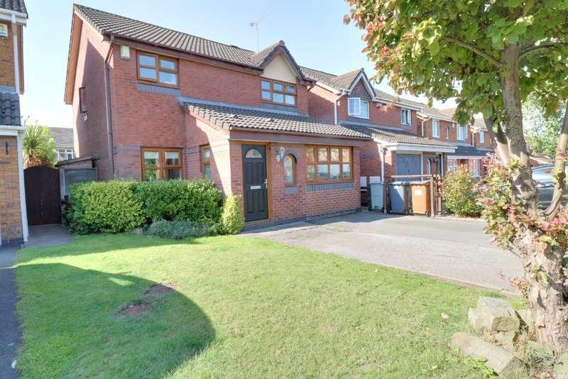 3 Bedrooms Detached House for sale in Arley Walk, Ettiley Heath, Sandbach, CW11 3ZN