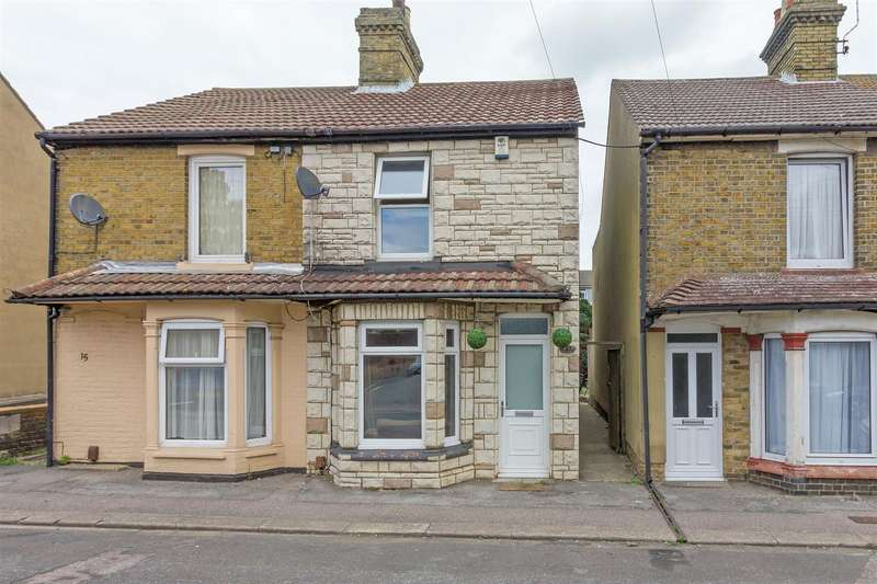 3 Bedrooms Semi Detached House for sale in Hythe Road, Sittingbourne