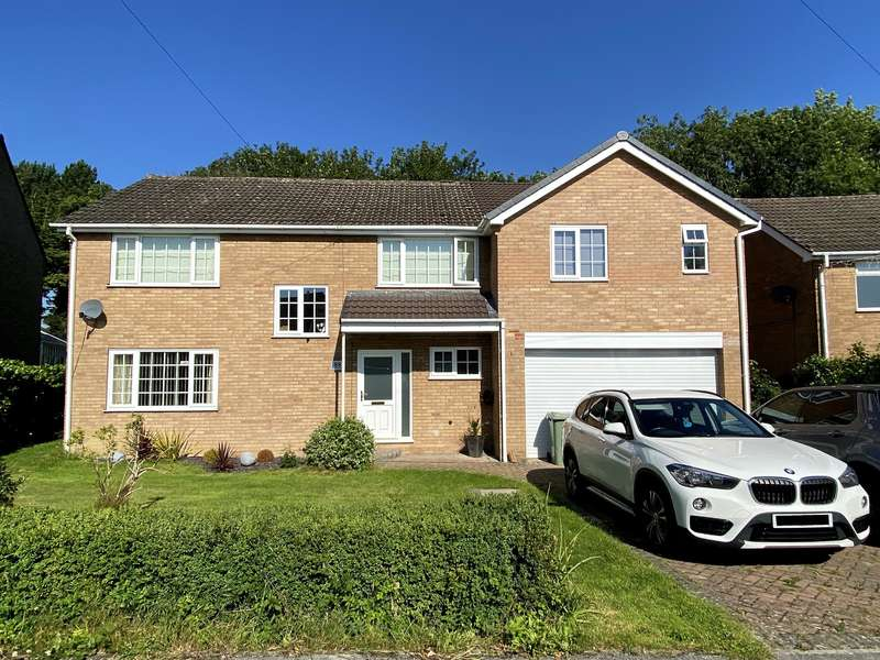 5 Bedrooms Detached House for sale in Chartwell Avenue, Wingerworth, Chesterfield, S42 6SP