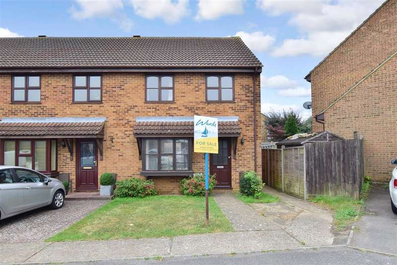 3 Bedrooms End Of Terrace House for sale in Heritage Drive, , Gillingham, Kent