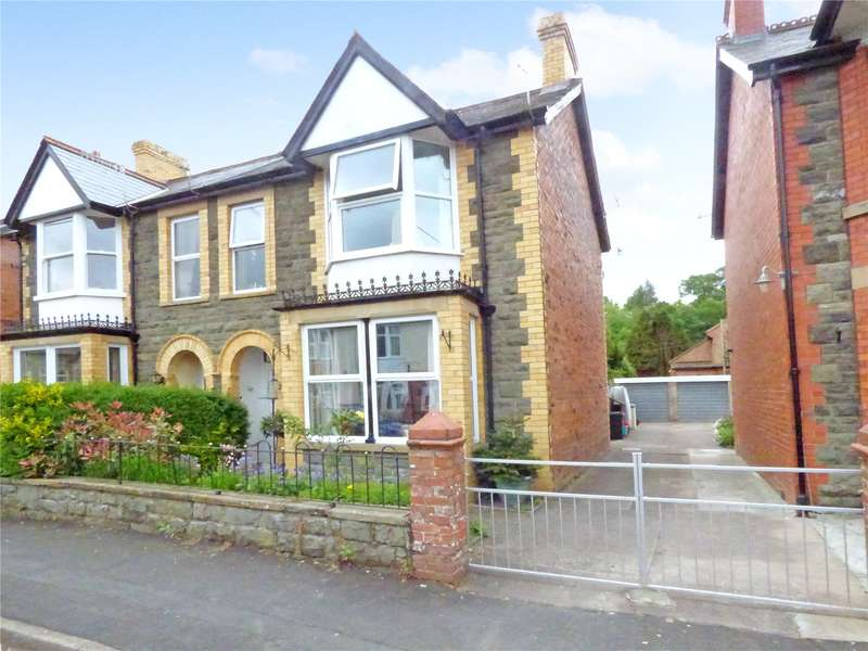 4 Bedrooms Semi Detached House for sale in 12 Irfon Road, Builth Wells, Powys, LD2 3DE