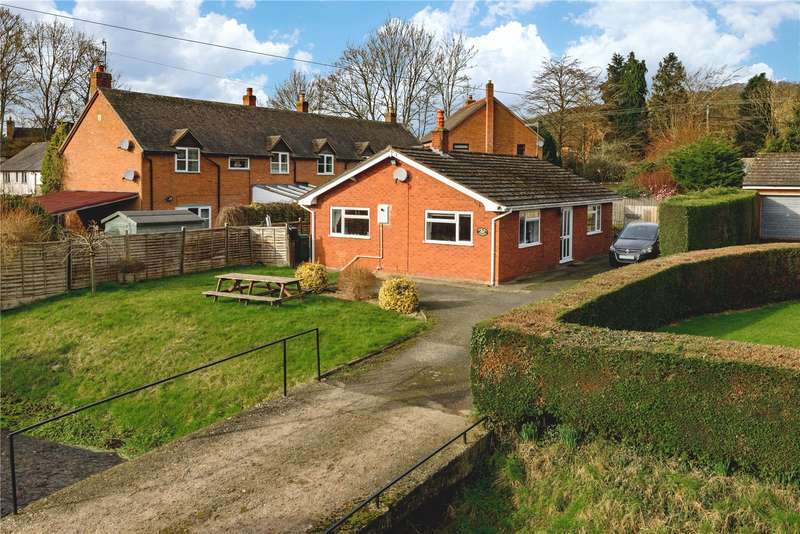 2 Bedrooms Detached Bungalow for sale in Mill Street, Aston-on-Clun, Craven Arms, Shropshire, SY7 8EN