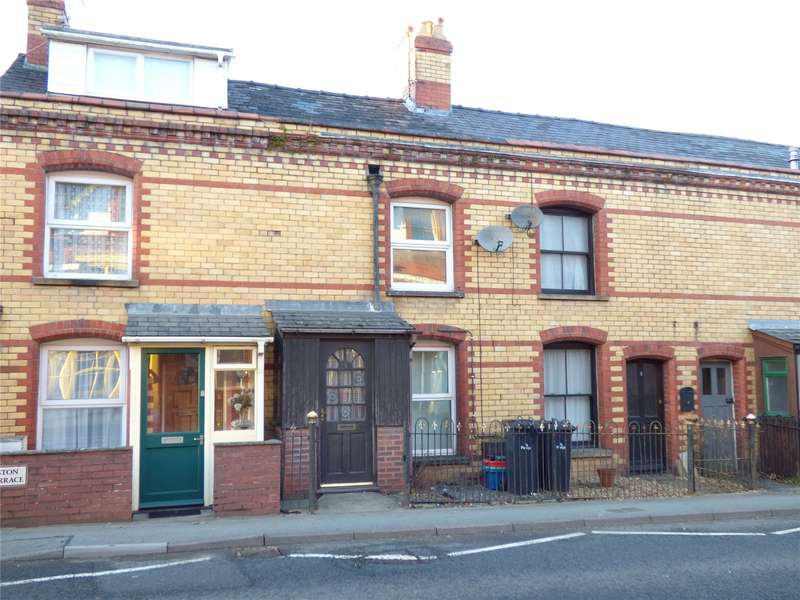 2 Bedrooms Terraced House for sale in 4 Wellington Terrace, Wellington Road, Llandrindod Wells, Powys, LD1 5NG