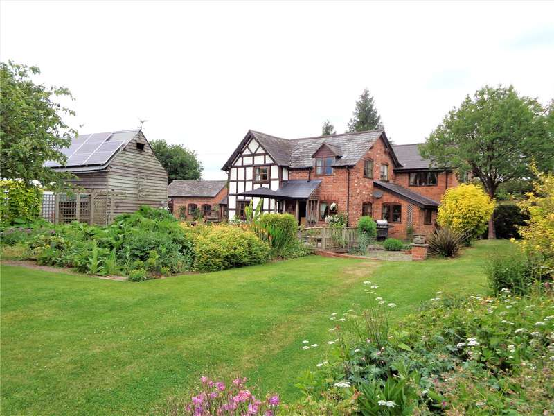 4 Bedrooms Detached House for sale in Golden Cross, Stretford, Herefordshire, HR6 9DQ