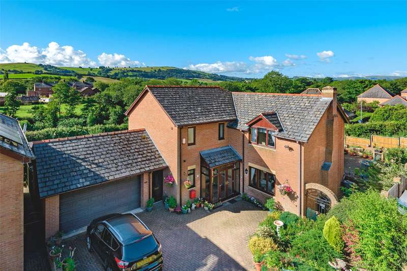 5 Bedrooms House for sale in 5 Bramble Close, Newtown, Powys, SY16 2TB