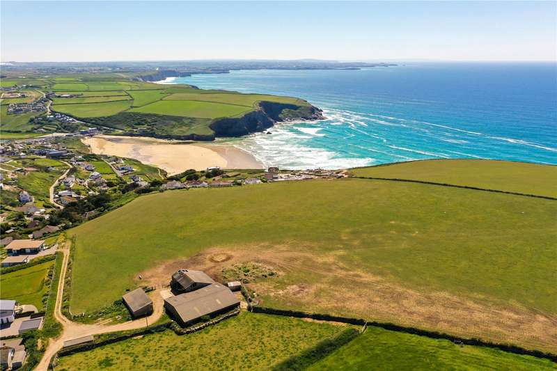 4 Bedrooms Detached House for sale in High Cove Farm, Mawgan Porth, Newquay