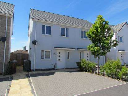 2 Bedrooms Semi Detached House for sale in Briarwood, Plymouth, Devon