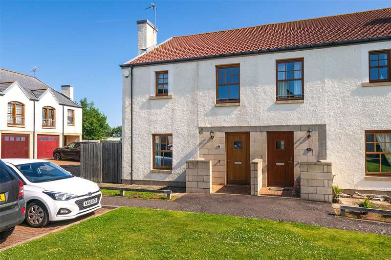 3 Bedrooms Semi Detached House for sale in 24 Gifford Court, Crail, Anstruther, Fife, KY10