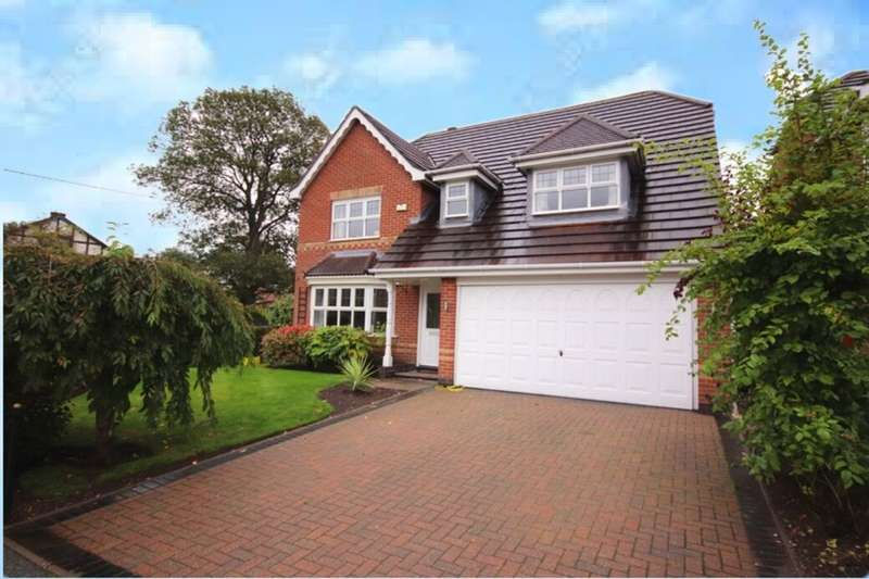 4 Bedrooms Detached House for sale in Boden Drive, Willaston, Nantwich, CW5