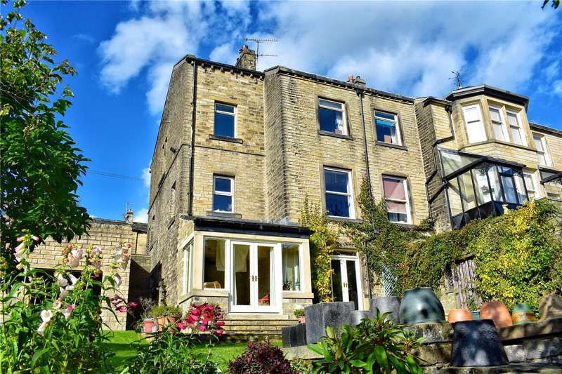 5 Bedrooms Semi Detached House for sale in Woodhead Road, Holmbridge, Holmfirth, West Yorkshire, HD9