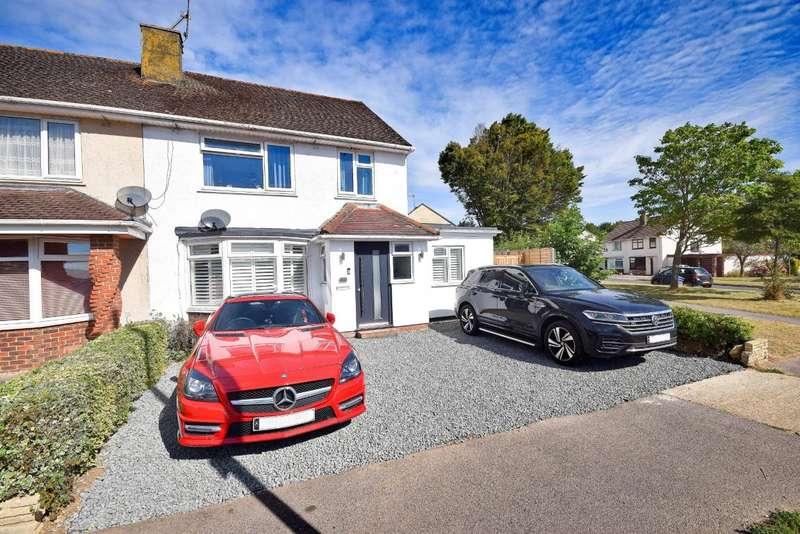 4 Bedrooms Semi Detached House for sale in Oakridge Road, Basingstoke, RG21