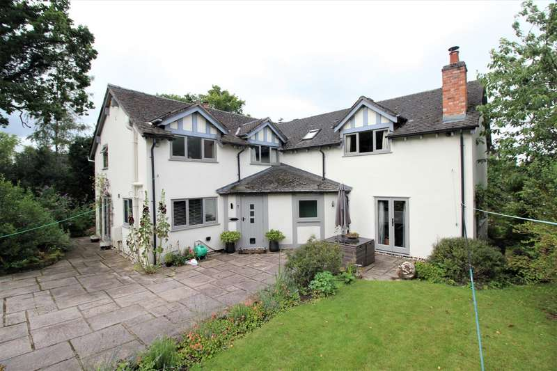 5 Bedrooms Detached House for sale in Hassall Road, Winterley, Cheshire, CW11