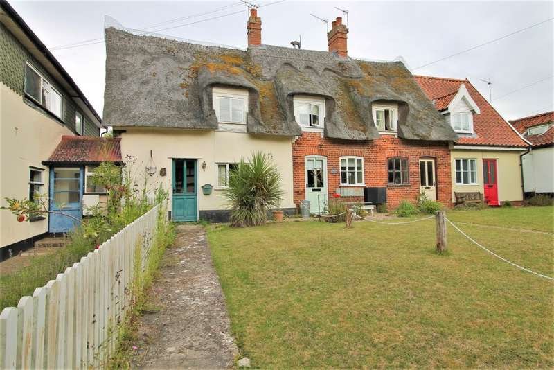 2 Bedrooms End Of Terrace House for sale in Norwich Road, Dickleburgh, Diss