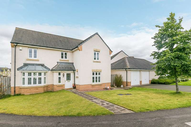 4 Bedrooms Detached House for sale in Burnbrae Avenue, Bonnyrigg, EH19
