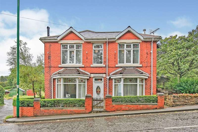 3 Bedrooms Detached House for sale in Sunny Terrace, Stanley, DH9