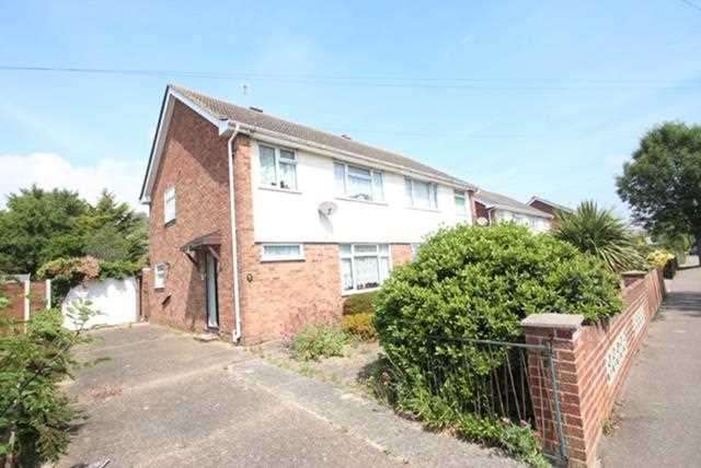 3 Bedrooms Semi Detached House for sale in Beaumont Avenue, Clacton-on-Sea