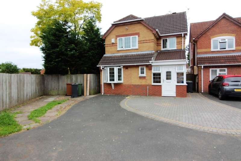3 Bedrooms Detached House for sale in Derwent Close, Willenhall