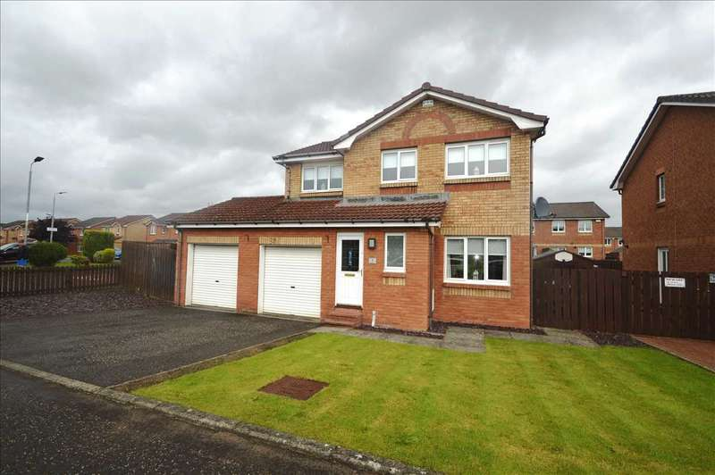 4 Bedrooms Detached House for sale in Tarquin Place, Motherwell