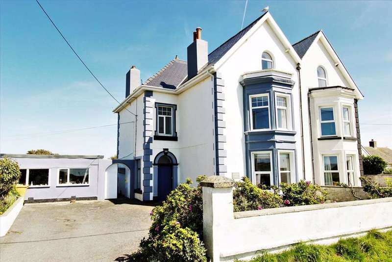 6 Bedrooms Semi Detached House for sale in Ynyslas, Borth