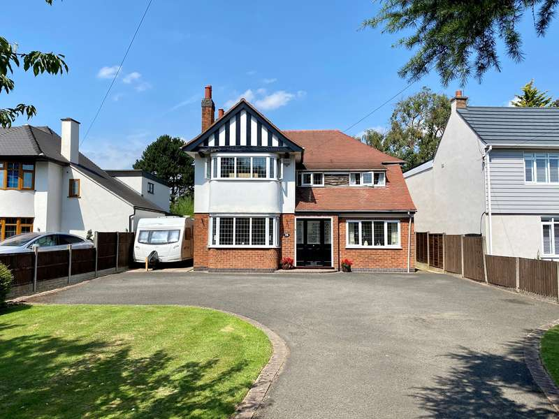 4 Bedrooms Detached House for sale in The Long Shoot, Nuneaton, CV11